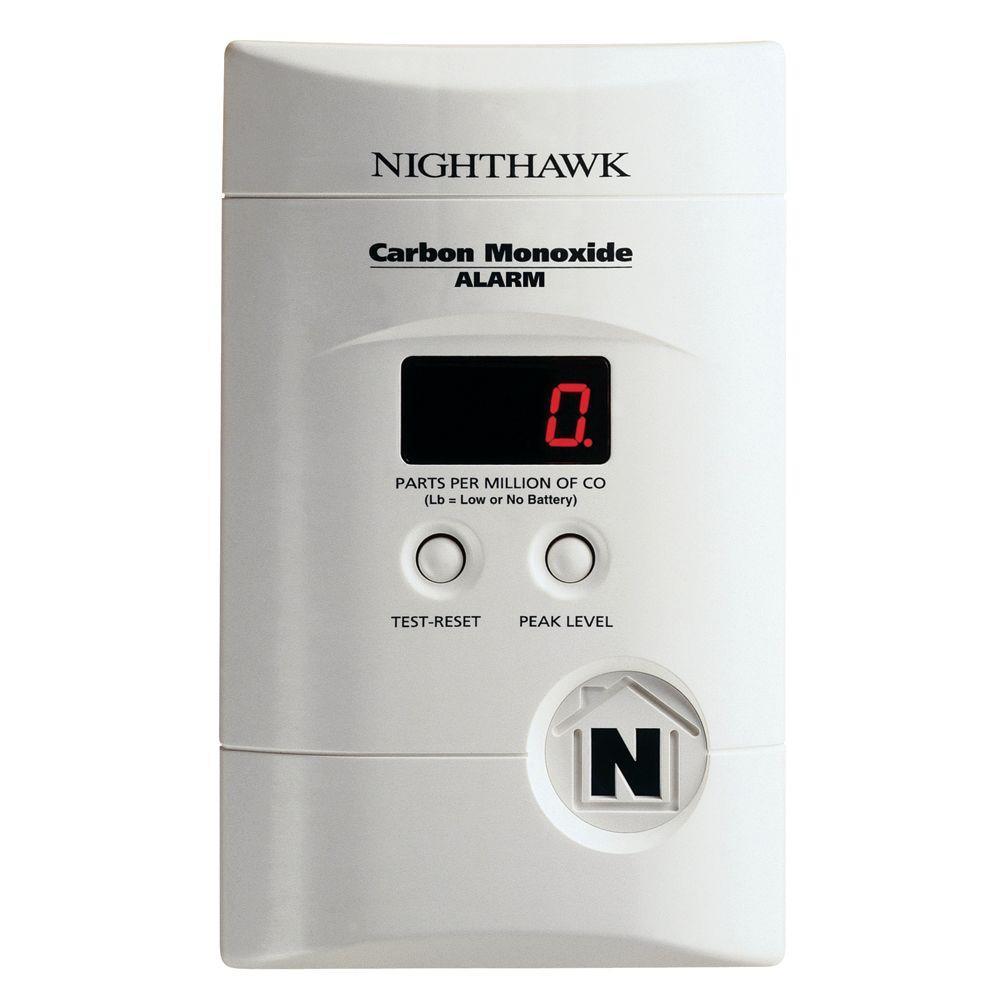 Kidde Plug-in Carbon Monoxide Detector with 9-Volt Battery Backup and Digital Display