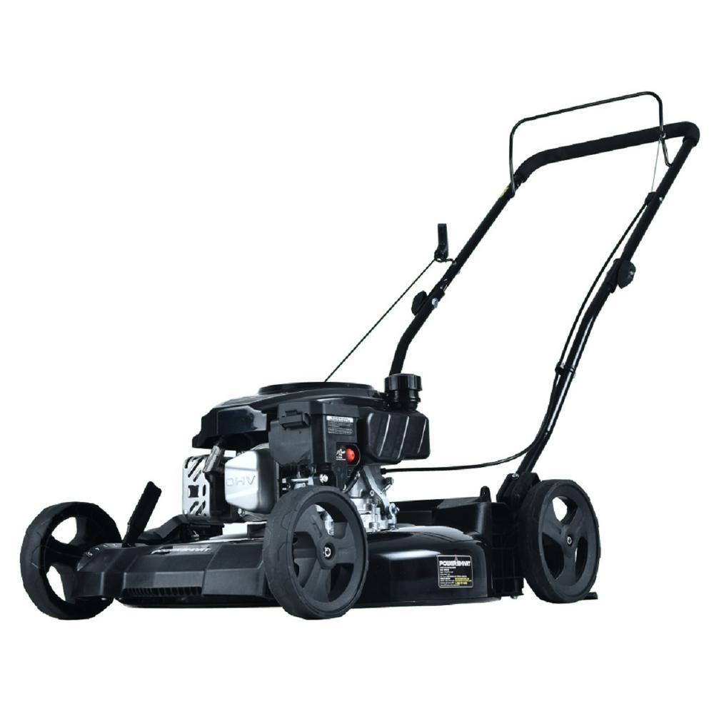 PowerSmart 21 in. 170 cc 2-in-1 Gas Walk Behind Push Lawn Mower