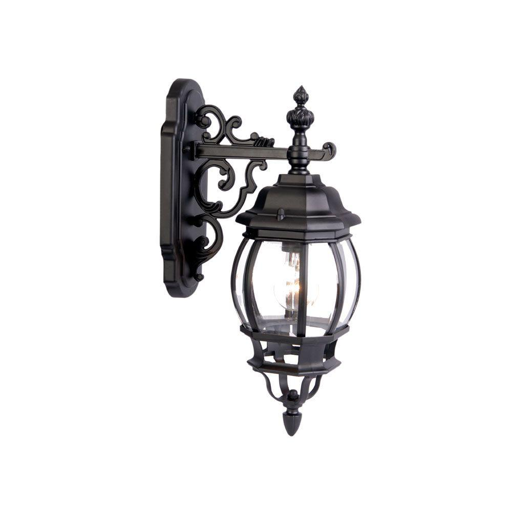 Acclaim Lighting Chateau Collection 1-Light Matte Black