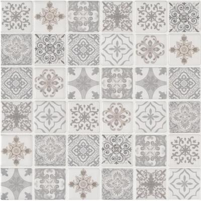 Ivy Hill Tile Bliss Edged Hexagon Sage 12 in  x 12 in  x 6