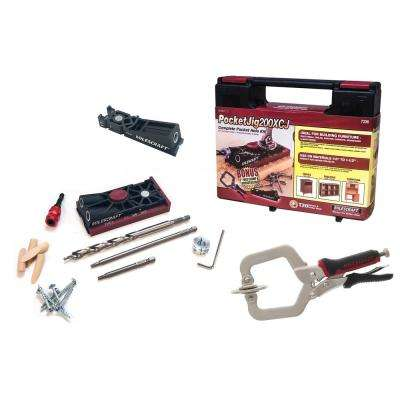 PocketJig200XCJ Ultimate Pocket Hole Bundle with 2 Jigs and 2 in. FaceClamp