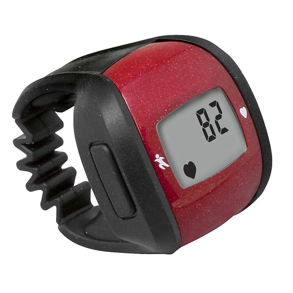 null HealthSmart Heart Rate Monitor Ring in Red