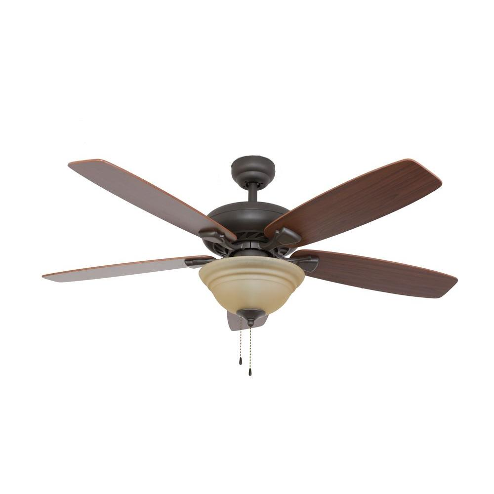 Sahara fans ardmore 52 in bronze ceiling fan 10036 the Home depot kitchen ceiling fans