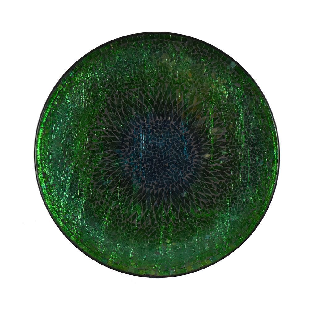 Teal Mosaic Plate