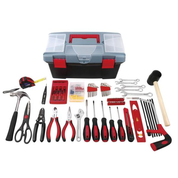 Home Tool Kit with Tool Box (170-Piece)