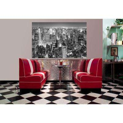 69 in. H x 45 in. W Midtown New York Wall Mural