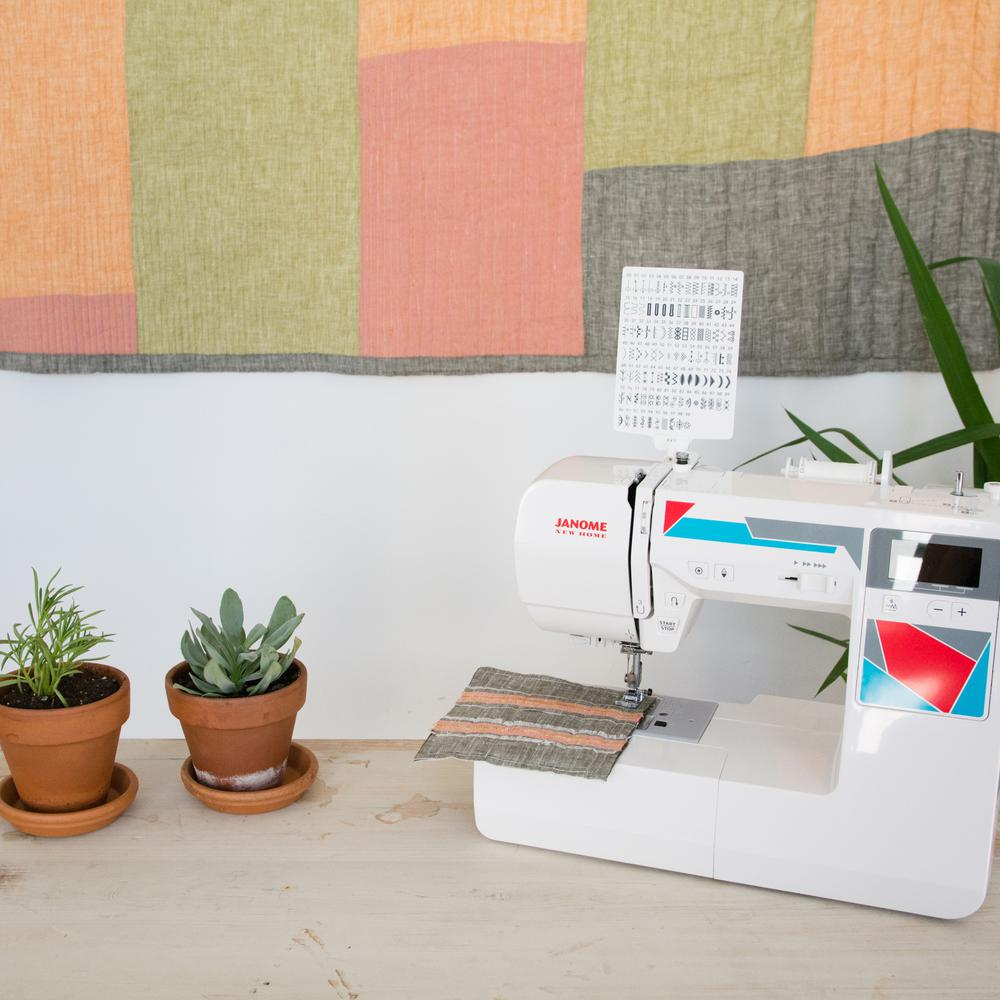 Janome MOD-100 Computerized Sewing Machine with 100-Stitc...