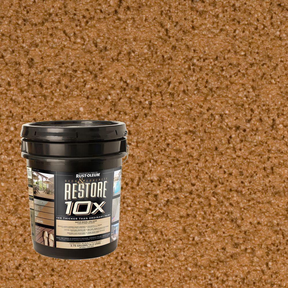 Rust-Oleum Restore 4-gal. Saddle Deck and Concrete 10X Resurfacer