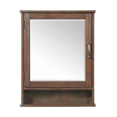 Minton 22 in. x 28 in.H Surface-Mount Medicine Cabinet in Rustic Wood