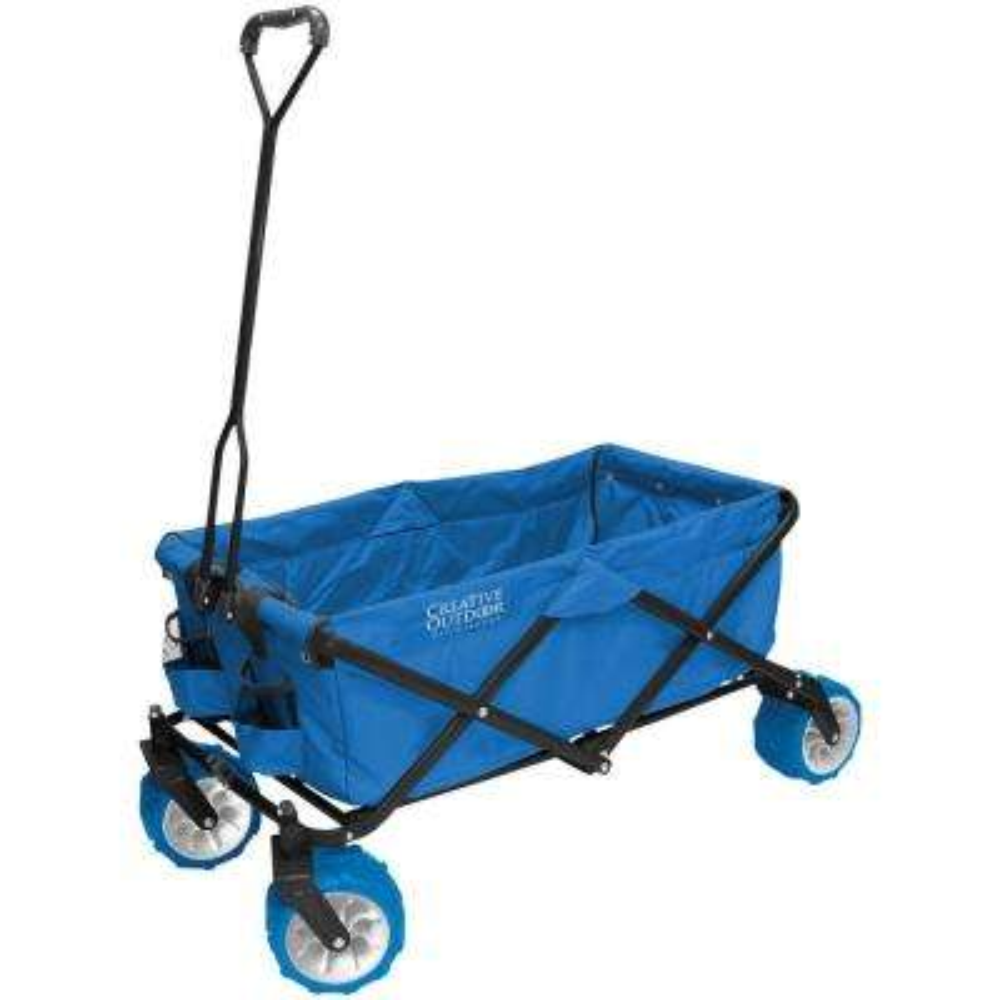 All-Terrain Cool Blue Folding Wagon