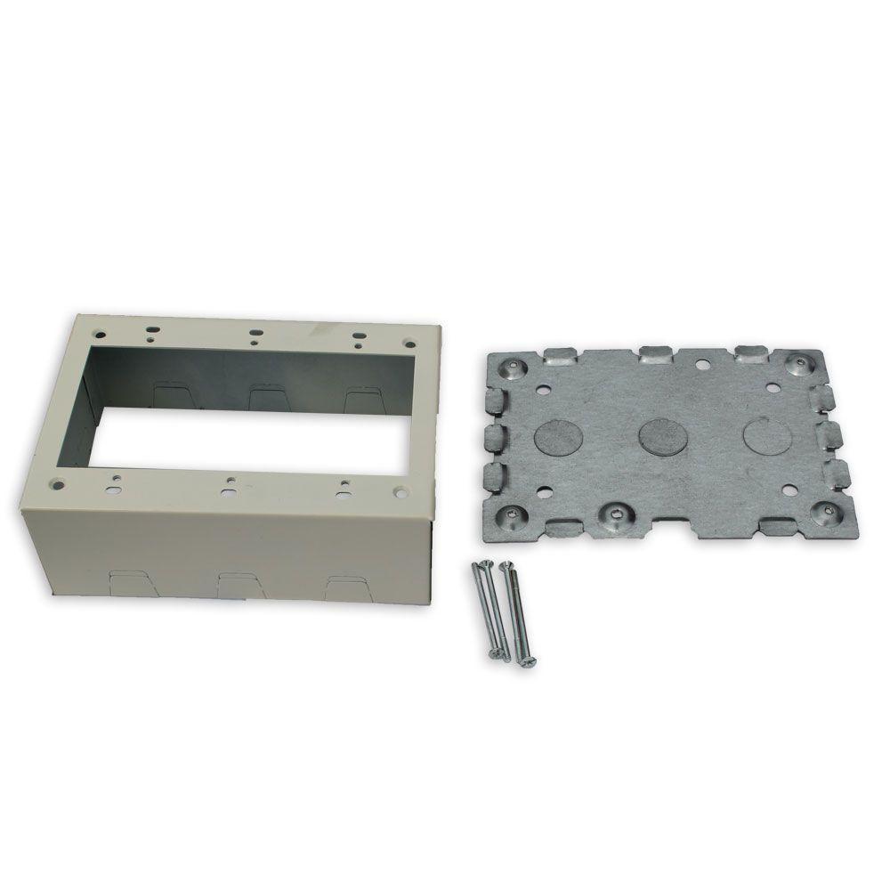 Junction box - Steel - Boxes & Brackets - Electrical Boxes, Conduit ...