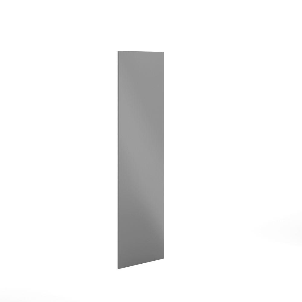 Eurostyle 24x80x0.75 in. Finishing End Panel in Painted Gray ...