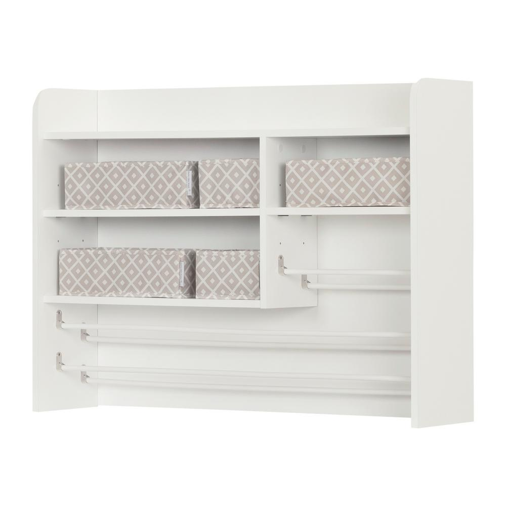 South Shore Crea Pure White Storage Cabinet