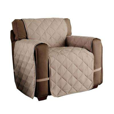Microfiber Ultimate Natural Solid Chair Protector