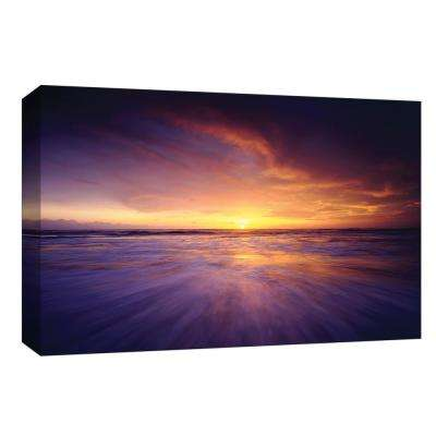 10 in. x 12 in. ''Regal Ocean'' By PTM Images Canvas Wall Art