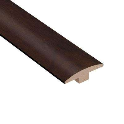 Cocoa Acacia 3/8 in. Thick x 2 in. Wide x 78 in. Length Hardwood T-Molding