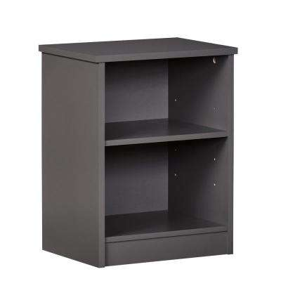 Jewel Graphite Gray Nightstand