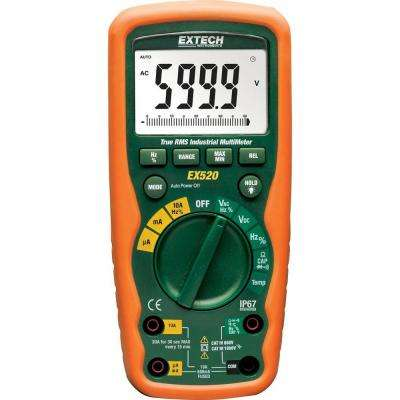 11 Function Heavy Duty True RMS Industrial Multimeter