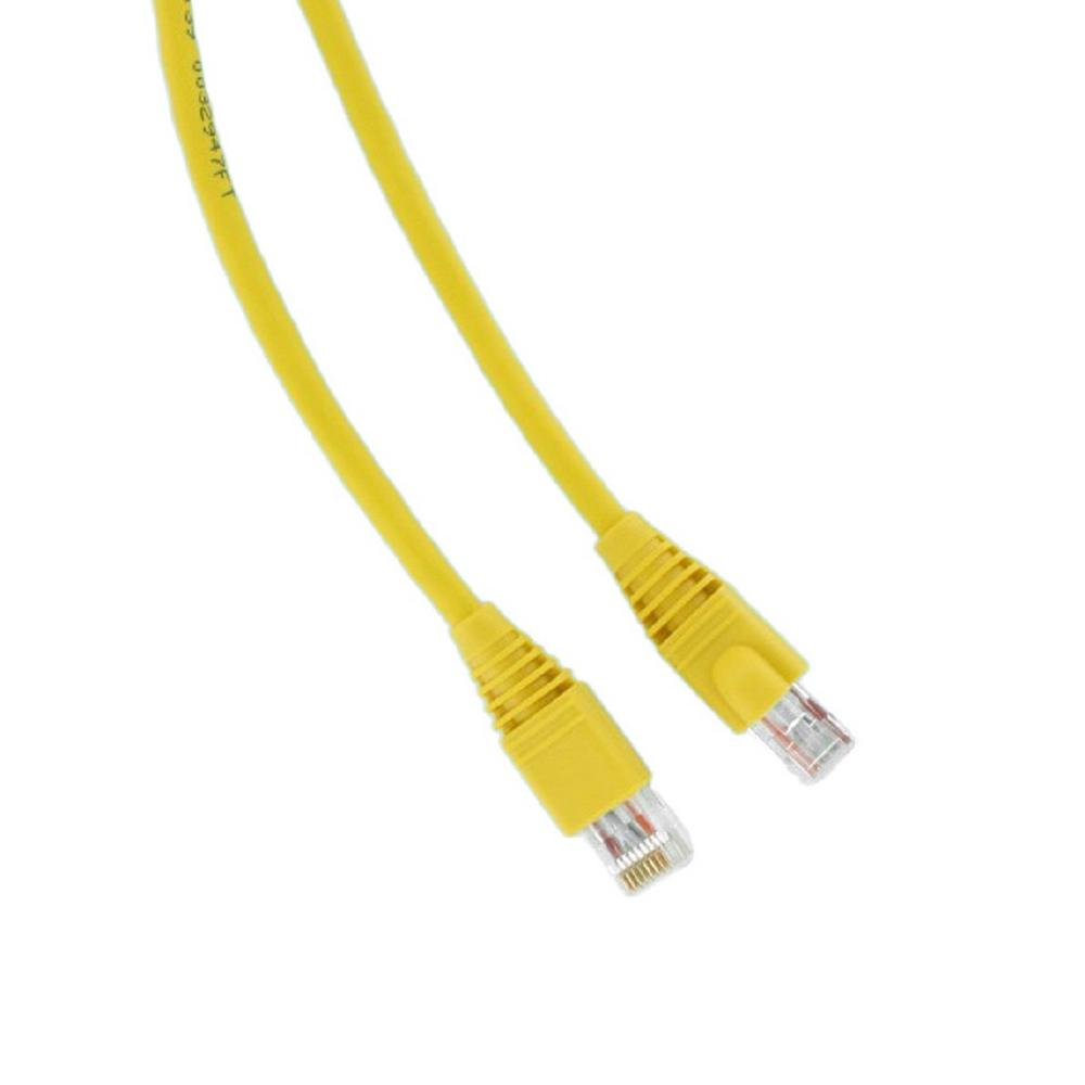 Leviton GigaMax 10 ft. Cat 5e Patch Cord, Yellow-5G460-10Y - The ...