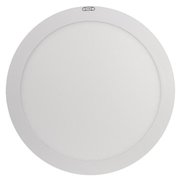 15 in. 22.5W Dimmable White Integrated LED Edge-Lit Round Flat Panel Flush Mount Ceiling Light W/Color Changing (3-Pack)