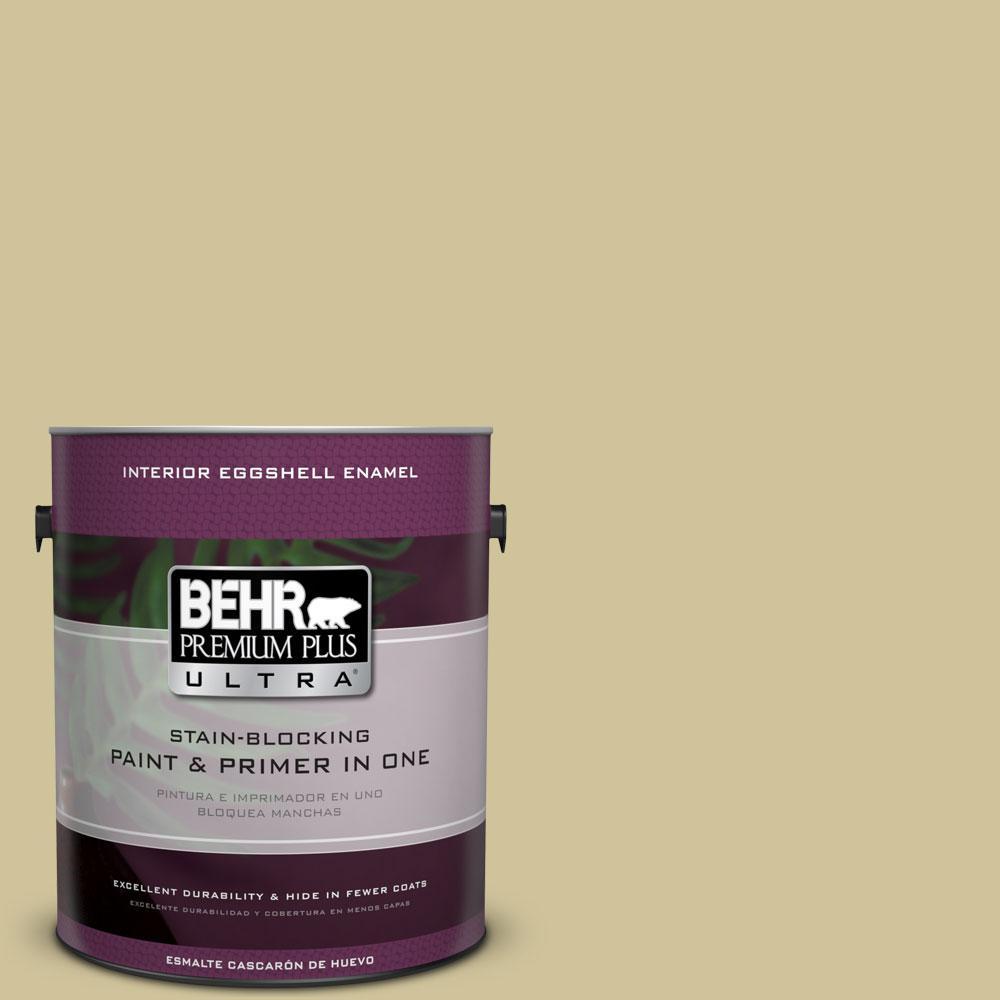 BEHR Premium Plus Ultra 1-gal. #390F-4 Outback Eggshell Enamel Interior Paint