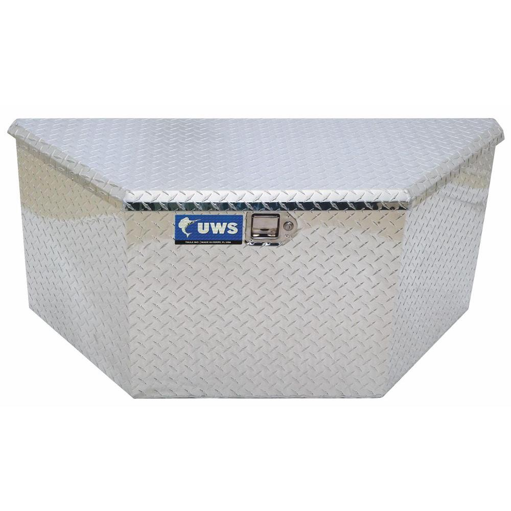 UWS 34 in. Aluminum Trailer Chest Box with Low Profile