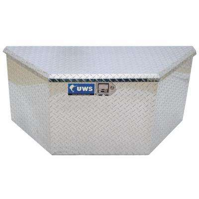 34 in. Aluminum Trailer Chest Box with Low Profile