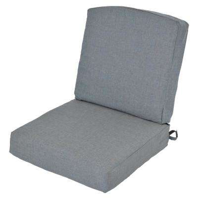 Oak Cliff 24.5 x 25 Outdoor Lounge Chair Cushion in Standard Spa