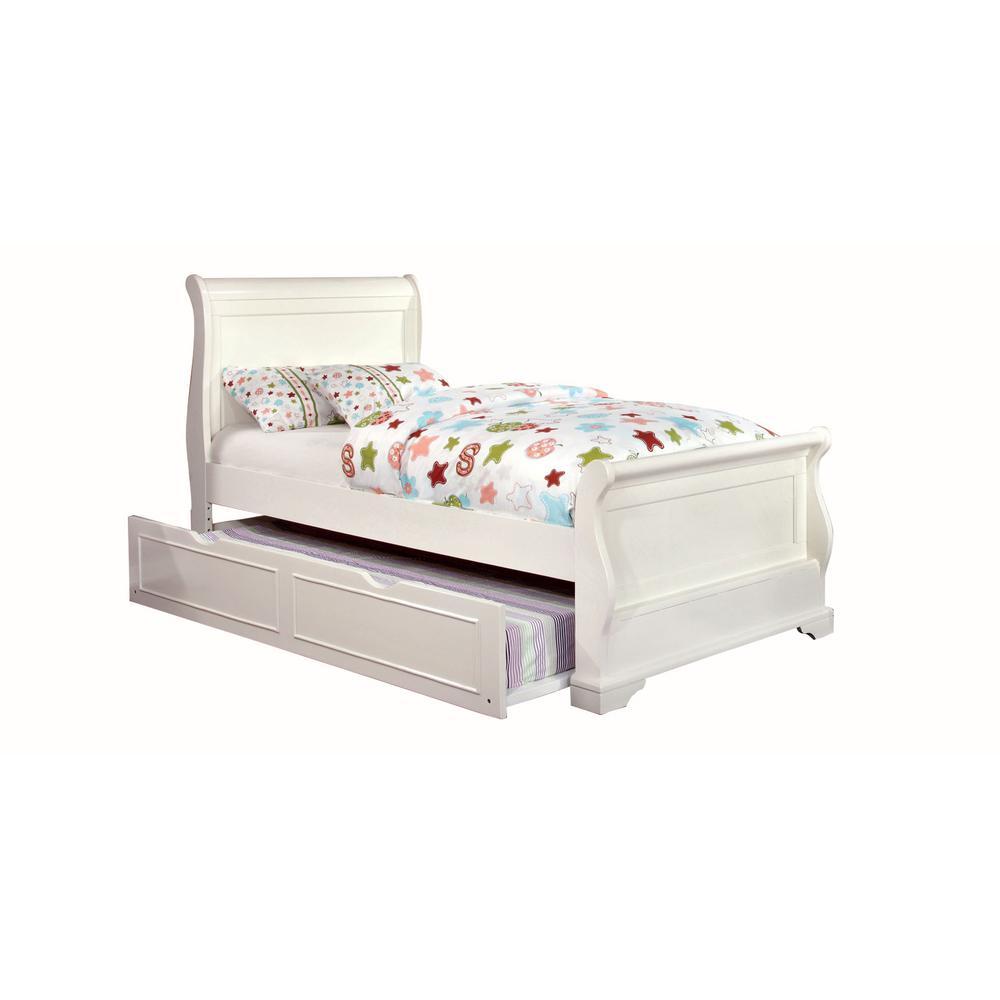 Mullan Full Bed in White