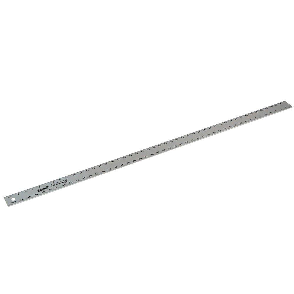 Empire 48 in. Aluminum Straight Edge Ruler