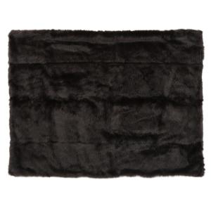 Toscana Shadow Faux Fur Throw Blanket