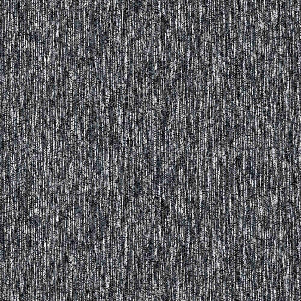 Midnight Grasscloth Wallpaper