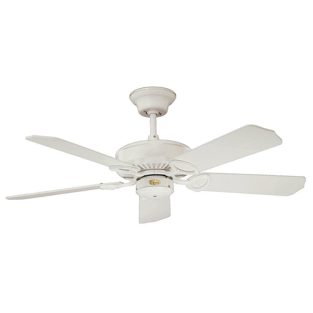 Illumine Non-Light 17.6 in. Fan White Ceiling-DISCONTINUED