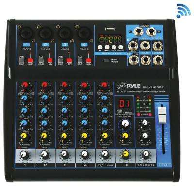 6-Channel Bluetooth Studio Mixer
