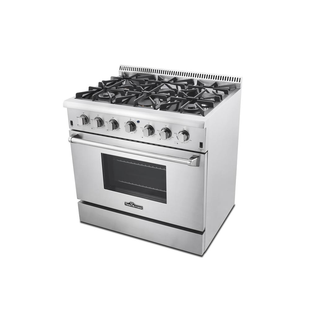 Thor Kitchen 36 In. 5.2 Cu. Ft. Professional Gas Range In