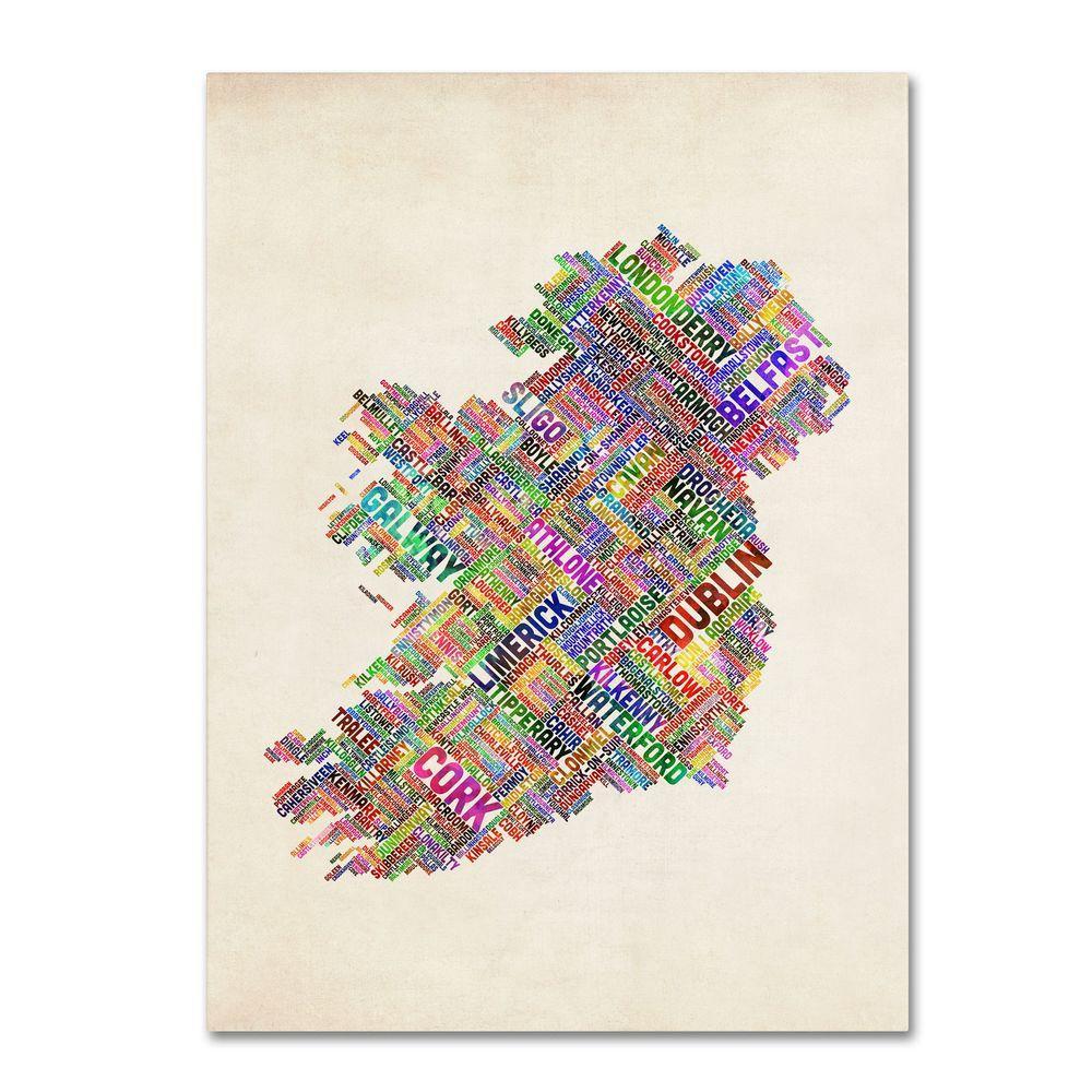 24 in. x 16 in. Ireland II Canvas Art