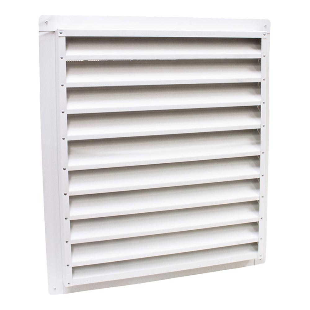 Air Vent 12 in. x 18 in. Aluminum Gable Mount/Wall Vent