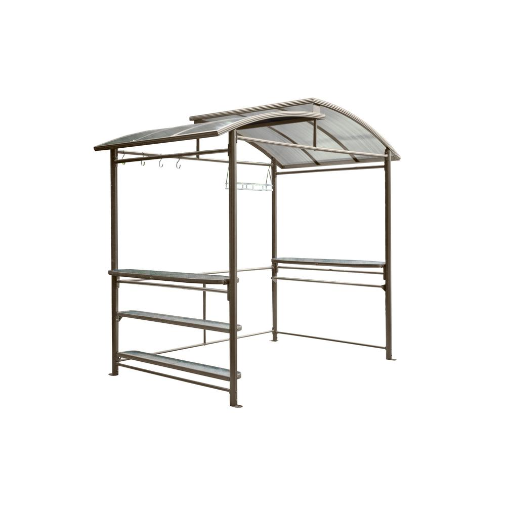 5 ft. x 8 ft. Grill Gazebo-436586 - The Home Depot
