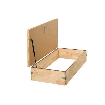 22.5 in. x 31 in. Upper Hatch for Attic Ladder