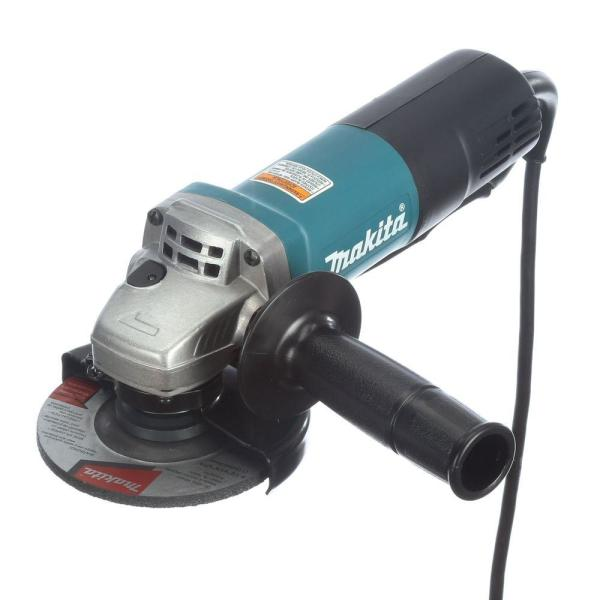 7.5 Amp 4-1/2 in. Paddle Switch Angle Grinder
