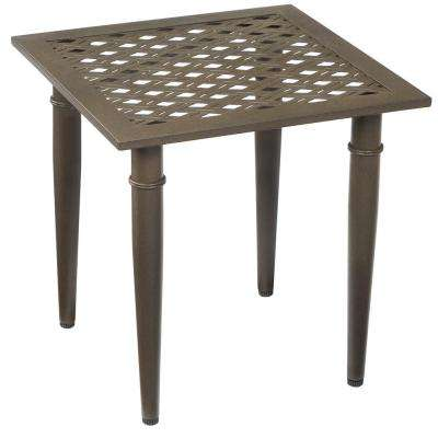 Oak Cliff Metal Outdoor Side Table