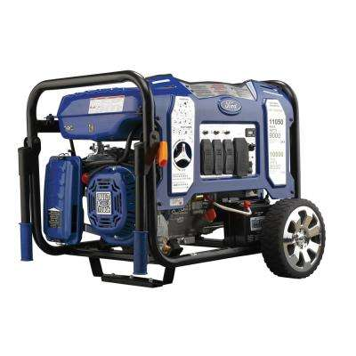 9,000/8,100-Watt Dual Fuel Gasoline/LPG Powered Electric Start Portable Generator