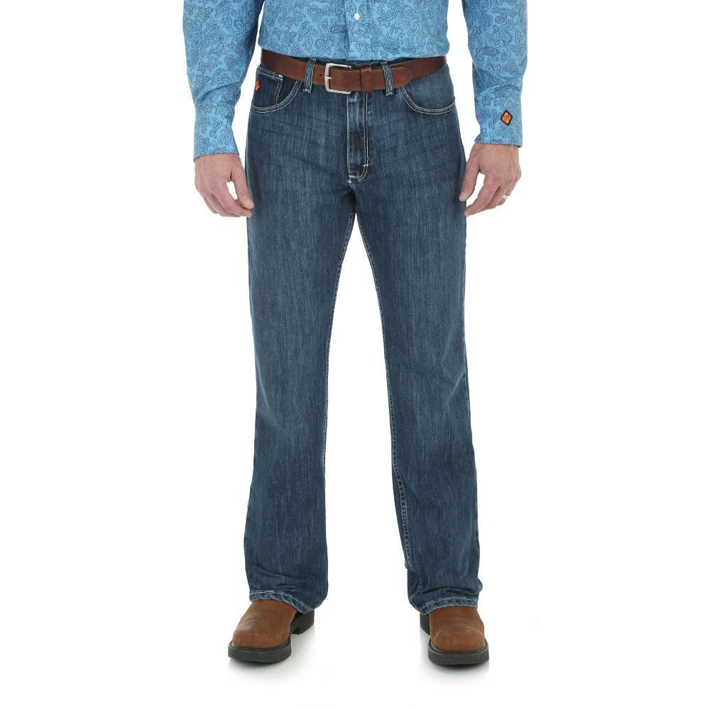 20X Men's Size 33 in. x 34 in. Midstone Vintage Boot Jean