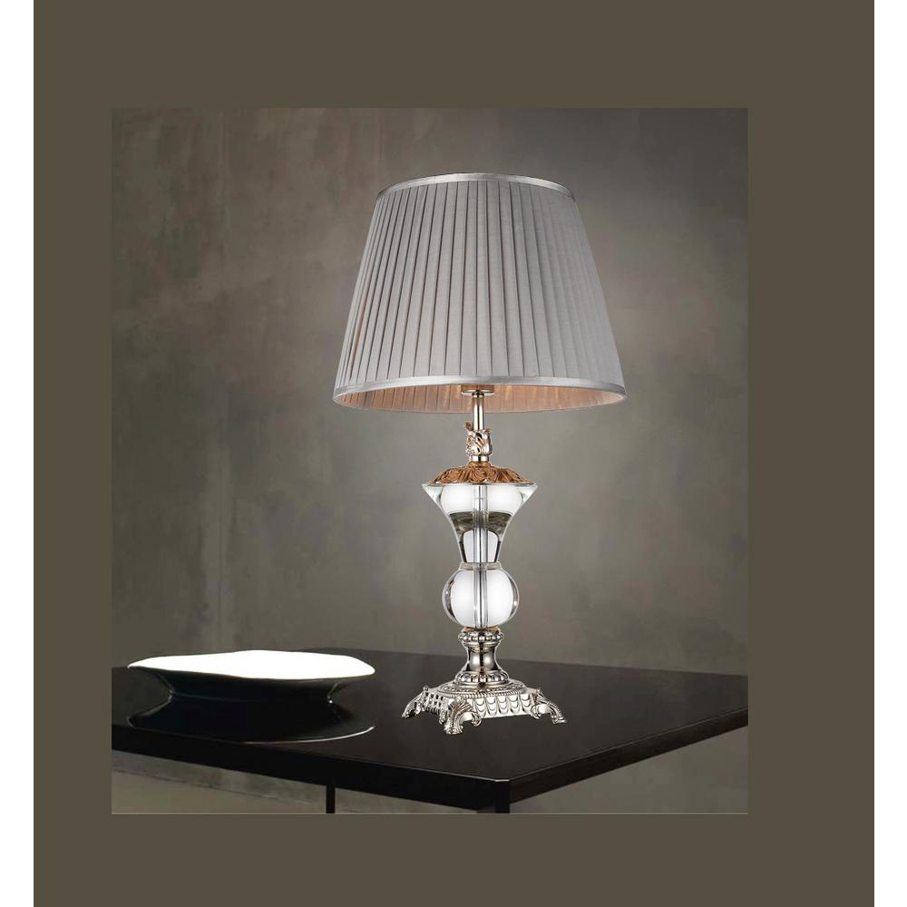 crystal com ok lamps lamp silver dp table amazon inch