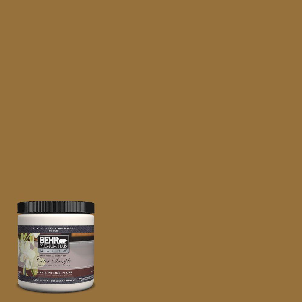 8 oz. #330D-7 Sconce Gold Interior/Exterior Paint Sample