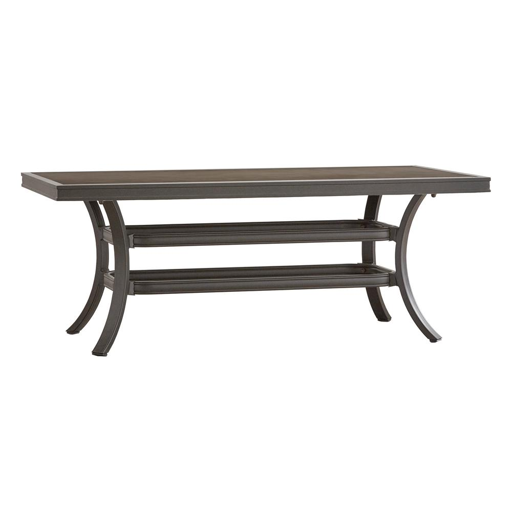 Thoren Aluminum Outdoor Coffee Table