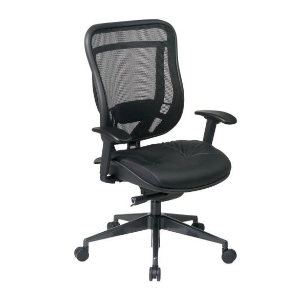 818 Series Black High Back Executive Office Chair
