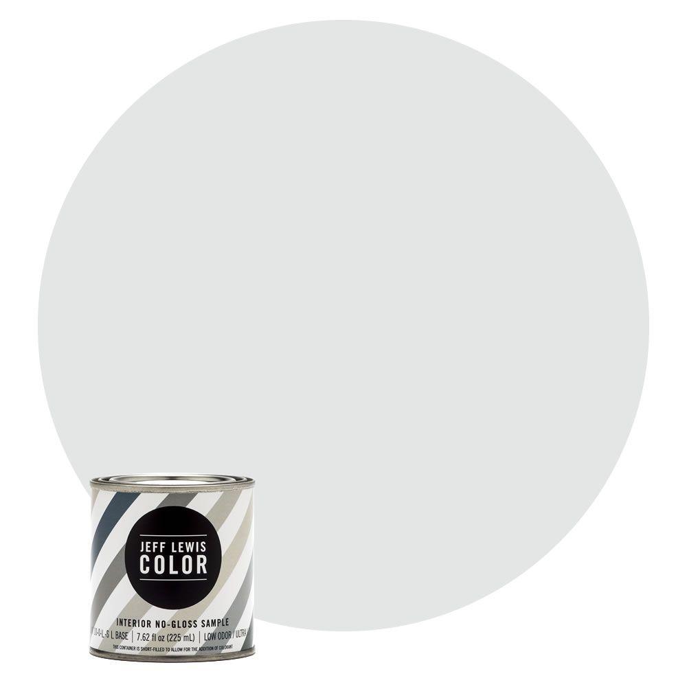 8 oz. #JLC310 Sky No-Gloss Ultra-Low VOC Interior Paint Sample