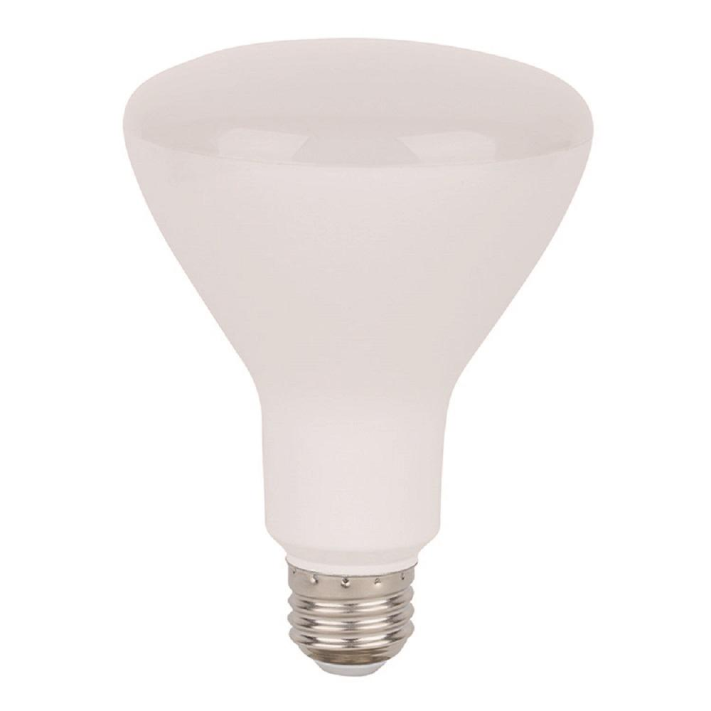 65-Watt Equivalent Soft White BR30 Dimmable LED Light Bulb