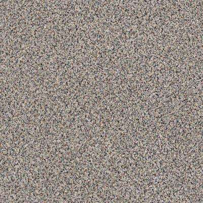 Carpet Sample - Madeline II - Color Evening Gray Texture 8 in. x 8 in.